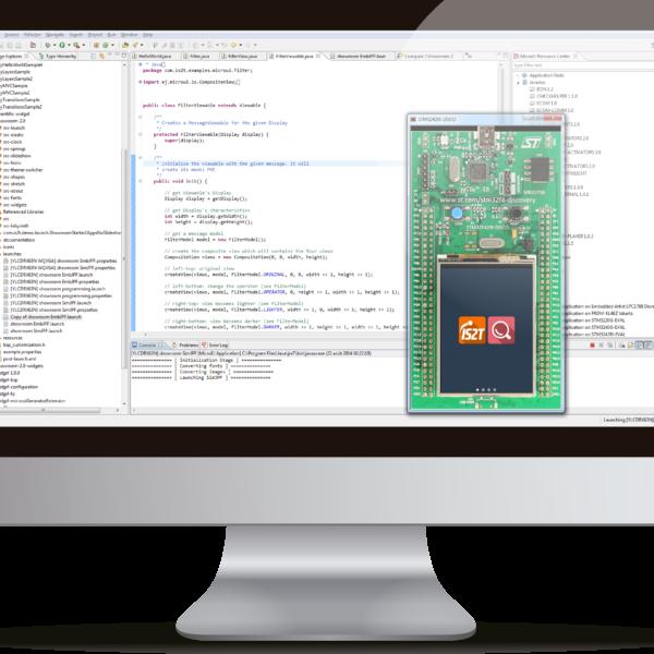 STM32Java development environment for STM32 microcontrollers