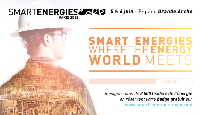 Smart Energies 2018, Paris