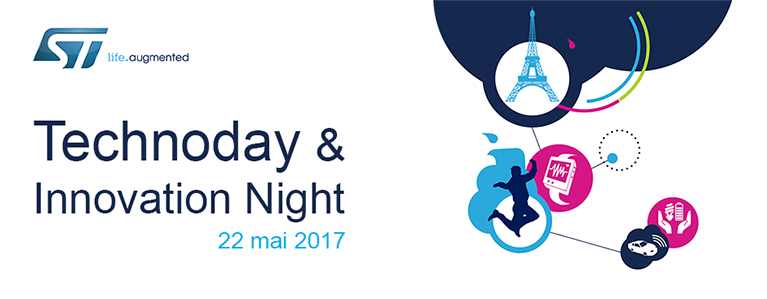 ST Technoday Innovation night 2017, Paris