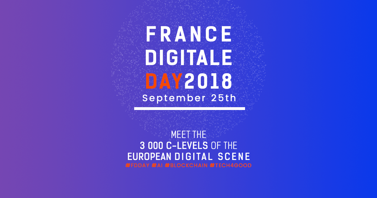 France Digitale Day 2018, Paris