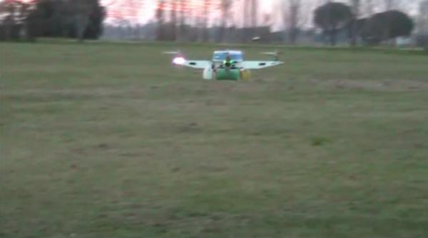 MicroEJ demo of a drone JA4RTOR II