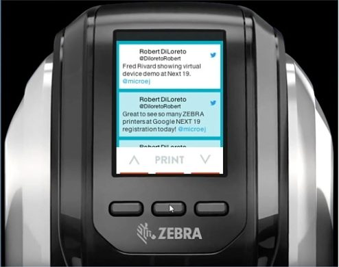 Zebra Technologies Printers at Google Next 2019