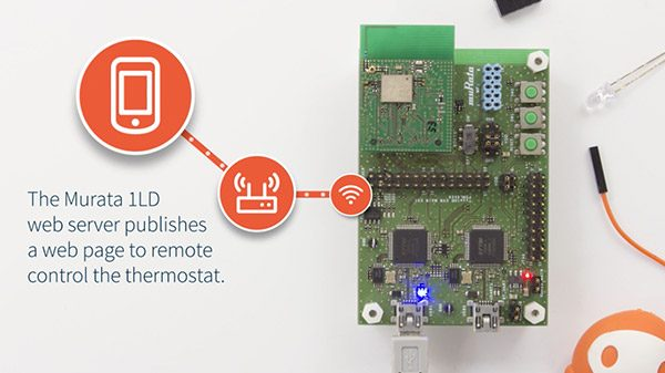 MicroEJ supports the Ultra Small Murata 1LD board