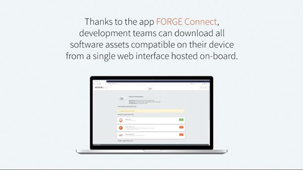 MICROEJ Forge, Revolutionary Application Store for IoT and Embedded Devices